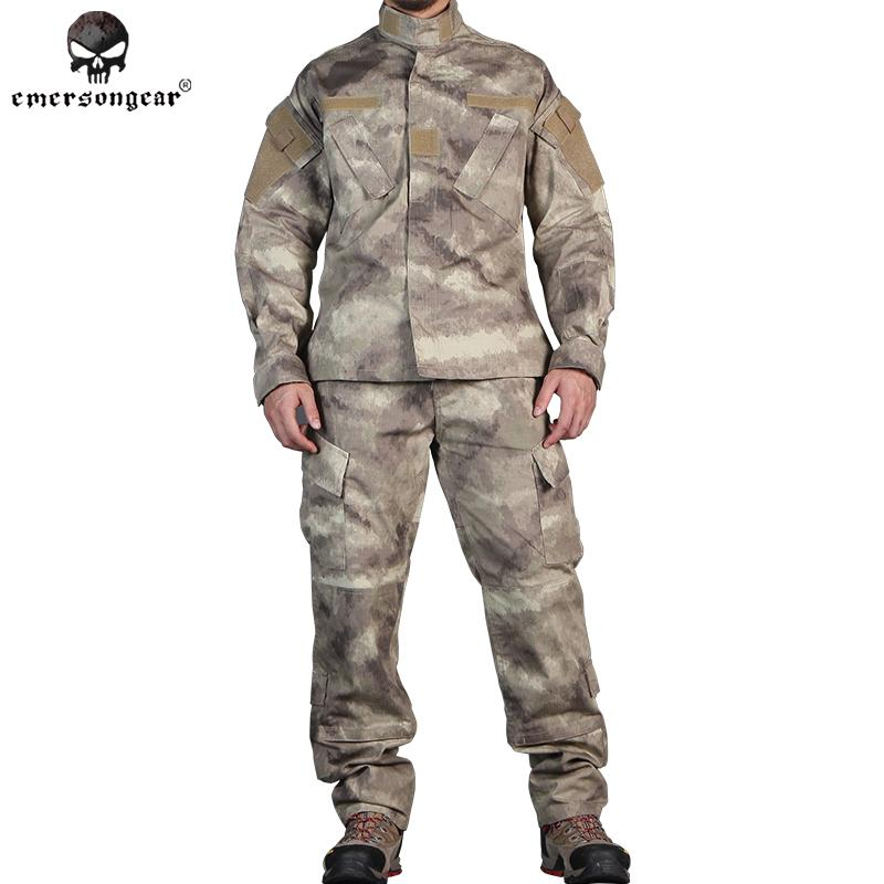 Combat Uniform ARMY BDU Emersongear Tactical Gear Paintball Coyote Brown UK  2019 From Teahong c59dc6cae6c1