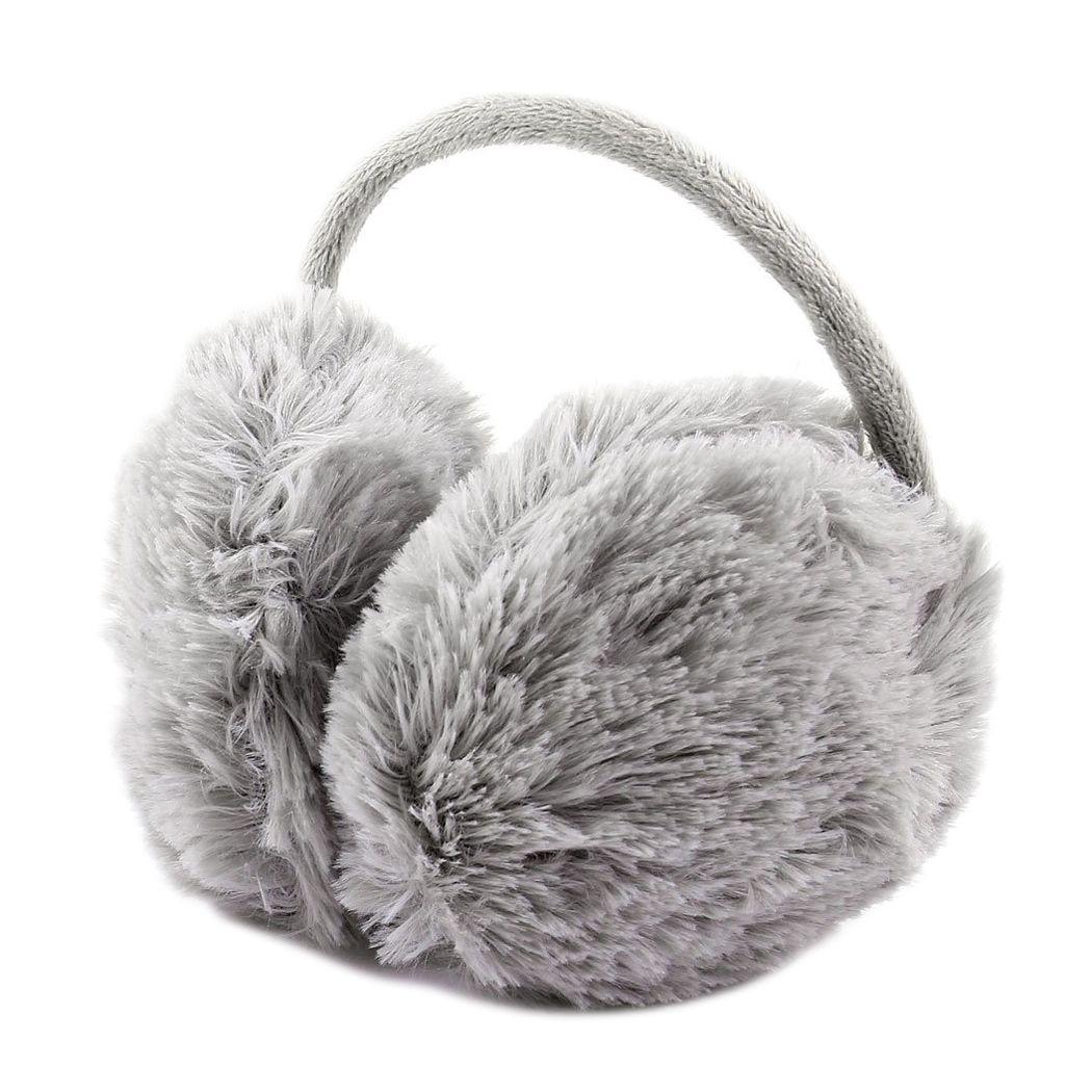 2019 Unisex Winter Headband Fluffy Faux Fur Ear Pad Back Earmuffs Gray From  Arrowhead 82a5044add4