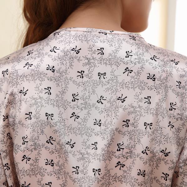 2016 Халаты Пижамы Женщины Халаты Сексуальная Пижамы Костюм Ночная Рубашка Платье Район Шелковые Сорочки