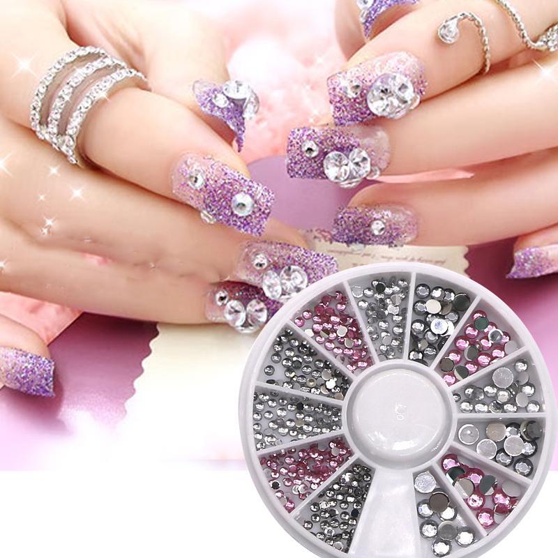 3d Nail Art Decorations Jewelry Nail Rhinestone For Women Diy