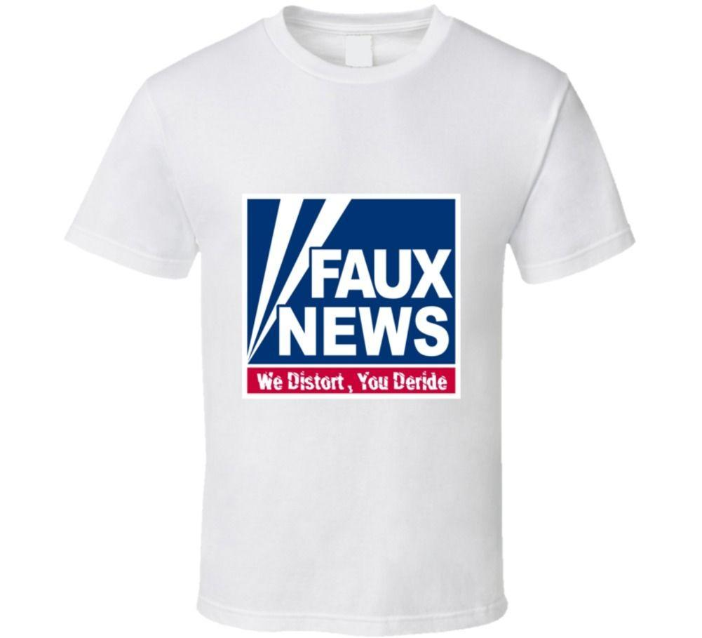 cd7c83a34 Fox Faux News Republican T Shirt Buy Funny T Shirts Online Tee Shirts Funny  From Offworlddesigns, $11.01| DHgate.Com