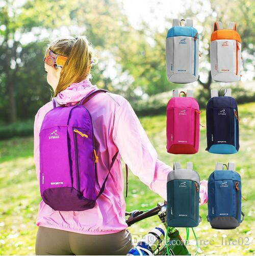3bd8479758 2019 Wholesale Waterproof Gym Cycling Bag Women Foldable Backpack Nylon  Outdoor Sport Luggage Bag For Fitness Climbing Foldable Men Travel Bags  From ...