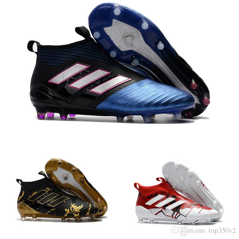 2018 hombres Adidas ACE 17   purecontrol FG Zapatos de fútbol zapatos de futbol