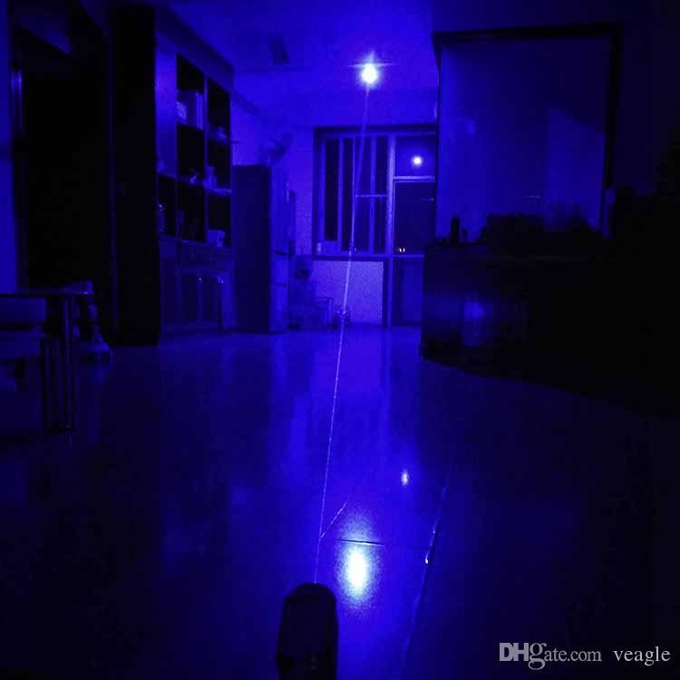 BL1-A высокой мощности 450nm военный видимый Луч регулируемый фокус одной ветви синий лазерный указатель пера с 5 звезд шапки
