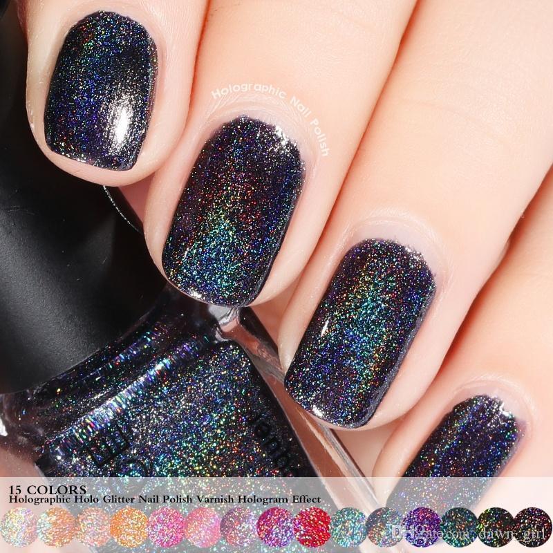 6ml Holographic Holo Glitter Nail Polish Varnish Hologram Effect