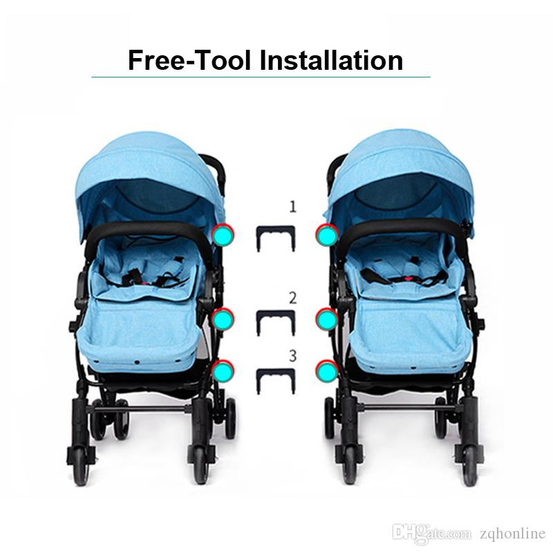 511e2d4c5 High Landscape Twins Stroller Can Be Split