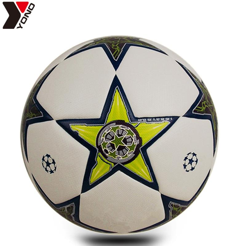 Football Size 5Pu Wear Resisting Granules Soccer Professional Match ... 5fe98f7e35b24