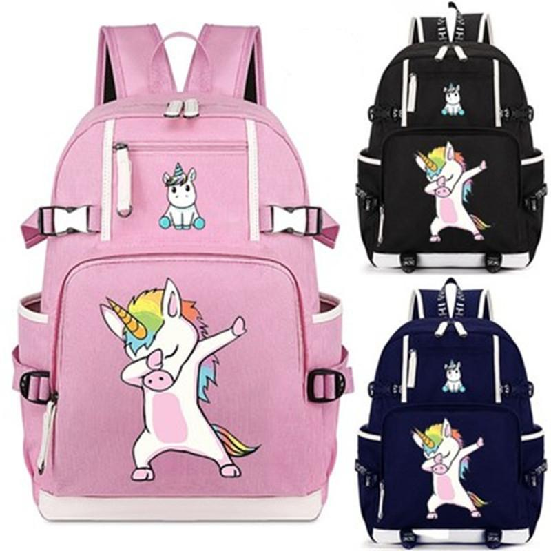 Cute Unicorn Dabbing Deadpool Cat Backpack School Bag Casual Teenagers  Student Book Travel Laptop Bag Gift Backpacks For College Backpacks For  Kids From ... e592a29a1cde0