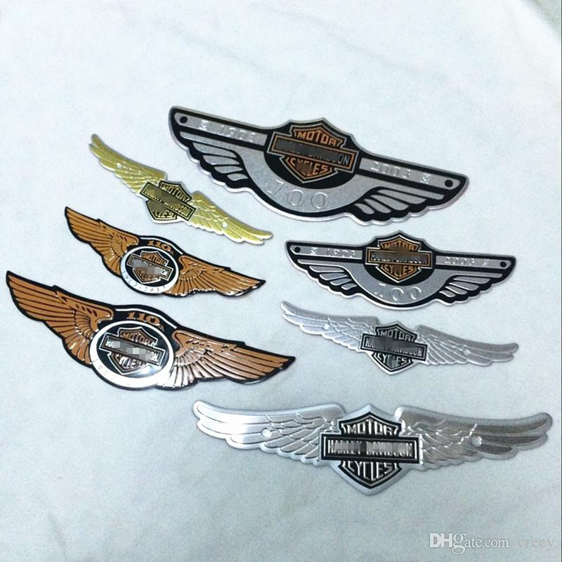 Universal 3D Motorcycle badge emblem sticker Auto logo accessories Funny car stickers styling badge