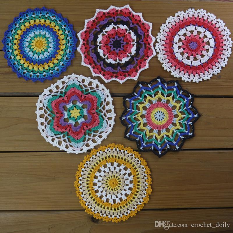 2019 Design Crochet Mandala Crochet Doilycrochet Placemat