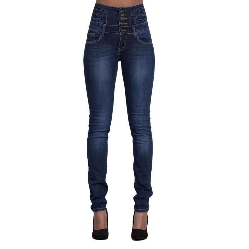 a81ff8c226856 Satın Al Kadınlar Yüksek Bel Ince Skinny Jeans Yırtık Streç Denim Sıcak  Kalem Kot Pantolon Streç Kalem Pantolon Yaz Yırtık Kot, $43.34 |  DHgate.Com'da