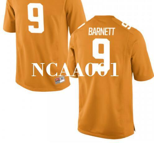 2019 Men  9 Derek Barnett Tennessee Volunteers Alumni College Jersey S  4XLor Custom Any Name Or Number Jersey From Ncaa001 3e375ebe0