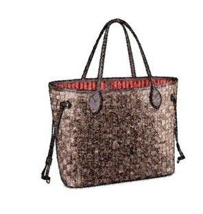 79820fbc9dc1 Dimier CLASSIC BRAND WOMEN REAL LEATHER Shoudler Bag Nf Ebene GM MM Purse  Tote Bag Ladies Fashion Strip Double Side Handbag And Pouch Black Handbag  Purses ...