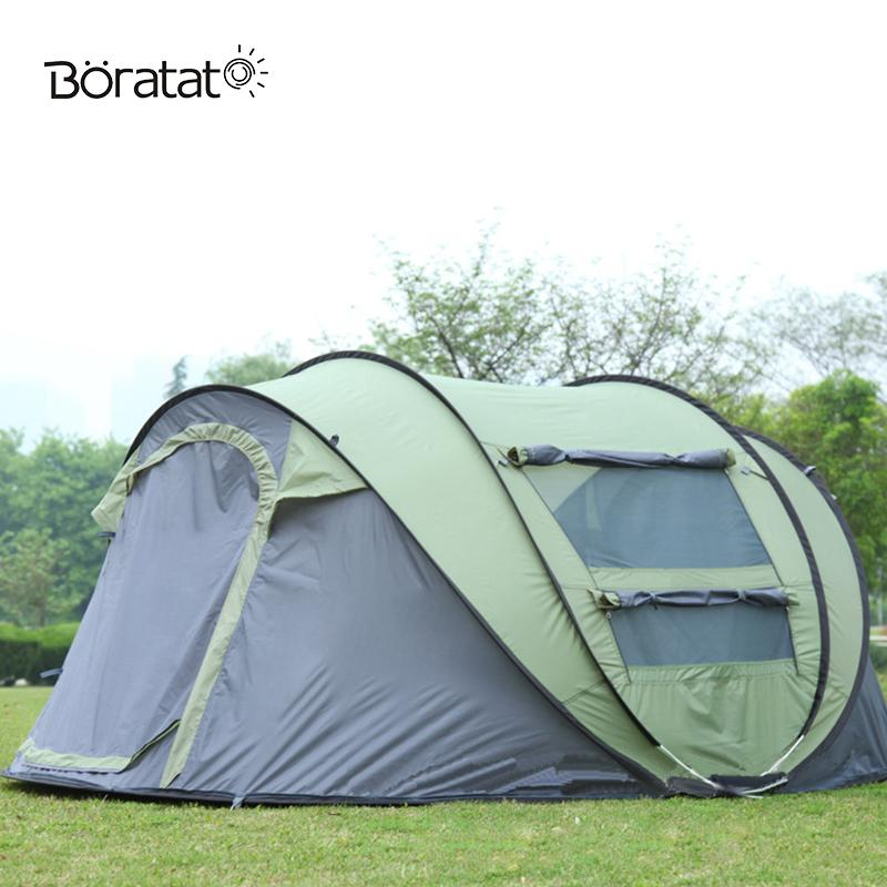 Cheap Camouflage Tents Best Nylon Tent Bags  sc 1 st  DHgate.com & Tourist Outdoor Tent Speed Open Camping Automatic 5-8 People Tent ...