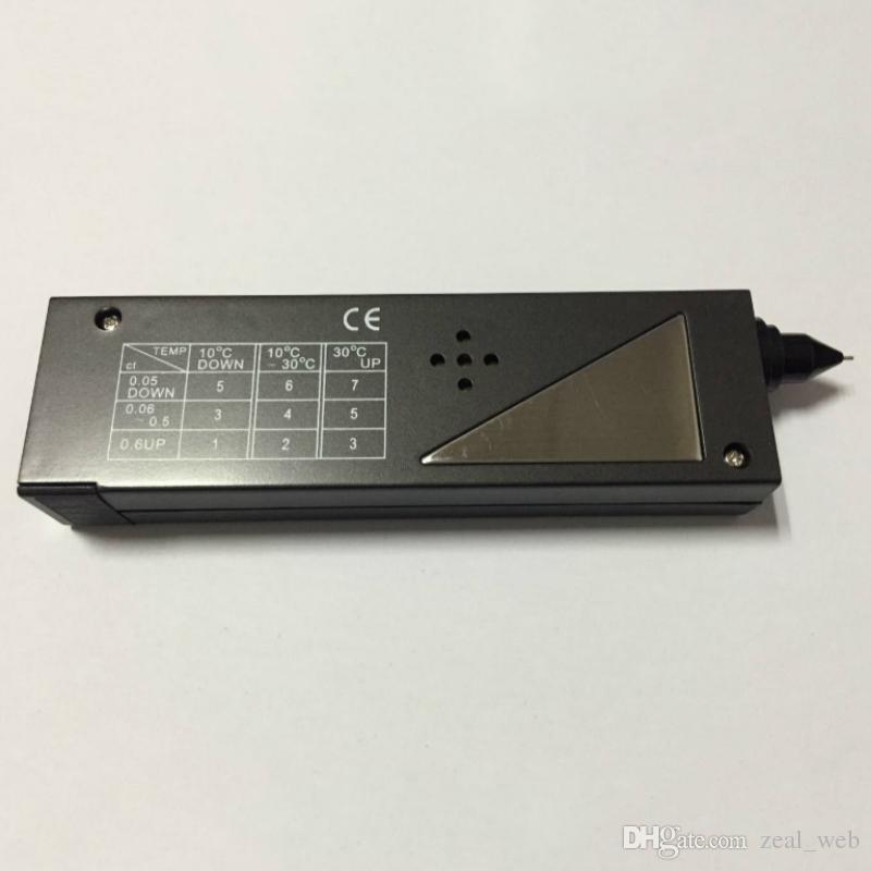 DHL V2 Seletor de Diamantes Testador de Jóias de Pedras Preciosas Caneta de Teste sem testadores de Dureza da bateria Instrumentos de Medição Física
