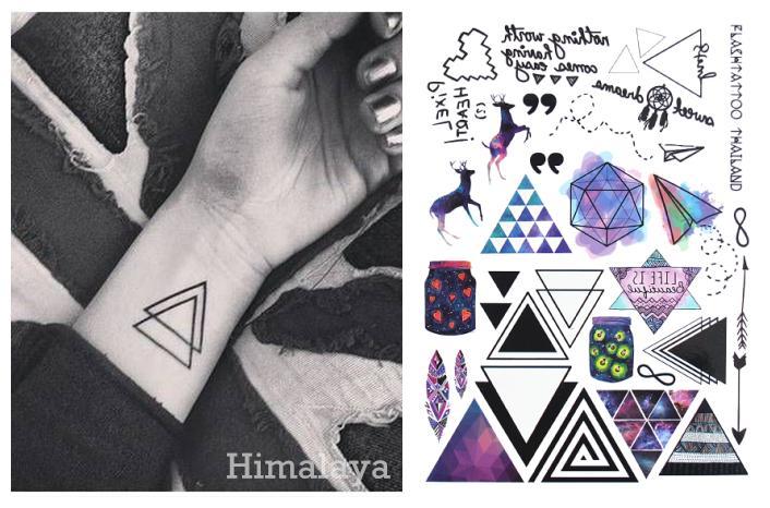 07144407f #391 Geometric Temporary Tattoos E Tattoos Modern Style Unisex Body Tattoos.  Are Temporary Tattoos Safe Barcode Temporary Tattoo From Eugenel, ...