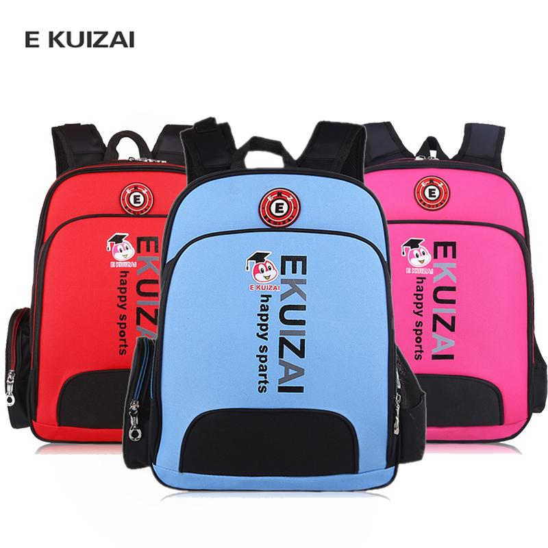 3bd4a01553 EKUIZAI Children Backpack Water Proof Nylon Boy Student Backpack Girl  Primary School Pupil S School Bag Mochila Escolar Rugzak Large Backpacks  For College ...