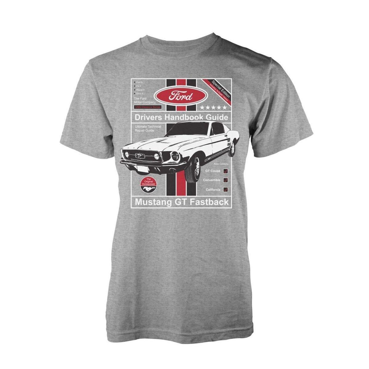 e4d0c75633109 Ford 1965 Mustang Muscle Car Manual T Shirt Officiel Hommes Buy Cool Shirts  Ordering T Shirts From Amesion41
