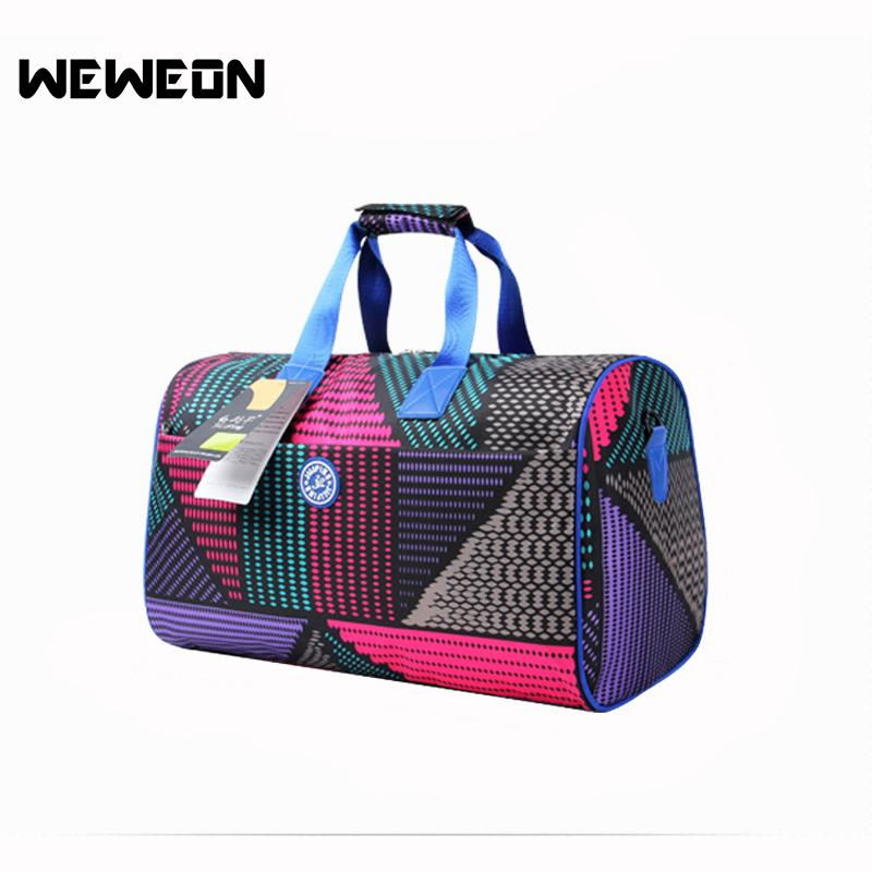 503d07b7ed9 2019 2018 New Women S Outdoor Gym Fitness Sports Bag Athletic Multifunction  Bags Colorful Floral Printed Yoga Mat Shoulder Handbags From Pineappleg, ...