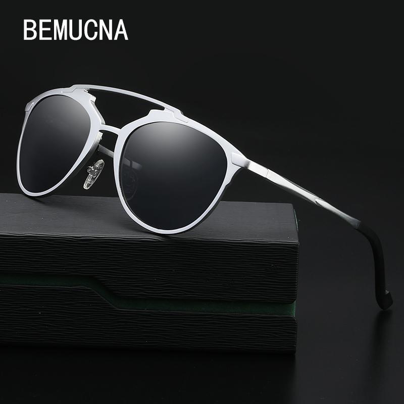 539e080d8 Compre BEMUCNA 2018 Os Novos Óculos De Sol Dos Homens Liga De Alumínio  Magnésio Condução Polarized Sunglasses 8596 Moda Óculos Venda Quente De  Geworth, ...