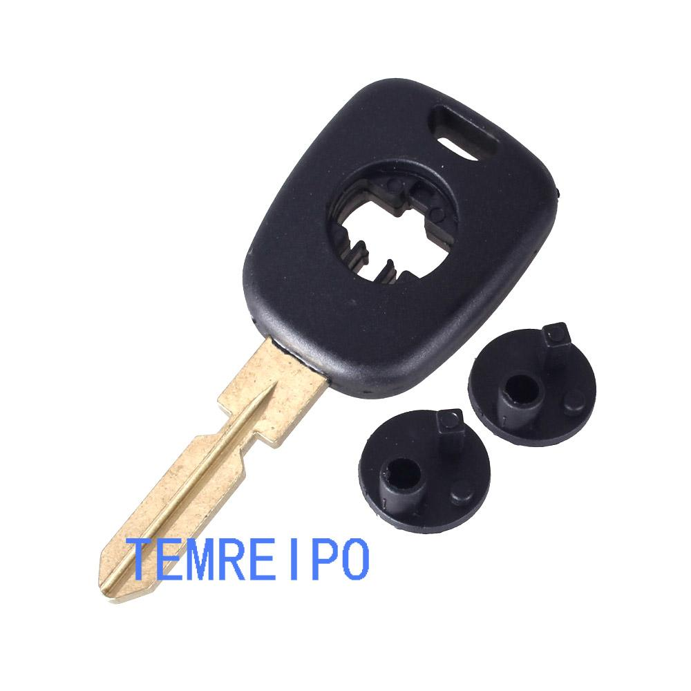 Transponder Key Shell With HU39 Key Blade For Mercedes Benz Replacement Car  Key Cover