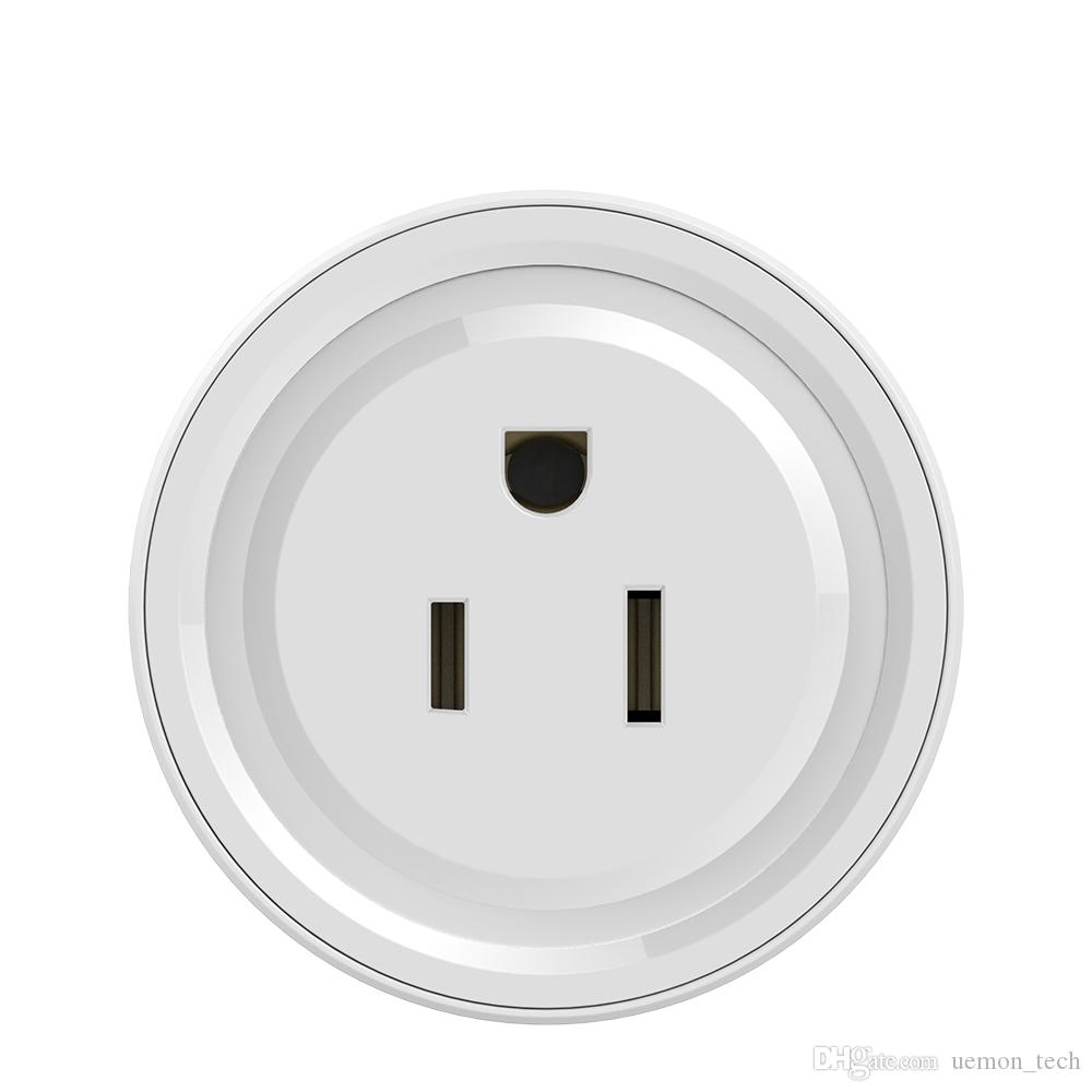 Wireless WiFi Smart Socket plug With Remote Control Alexa Phones APP Remote  Control by IOS & Android