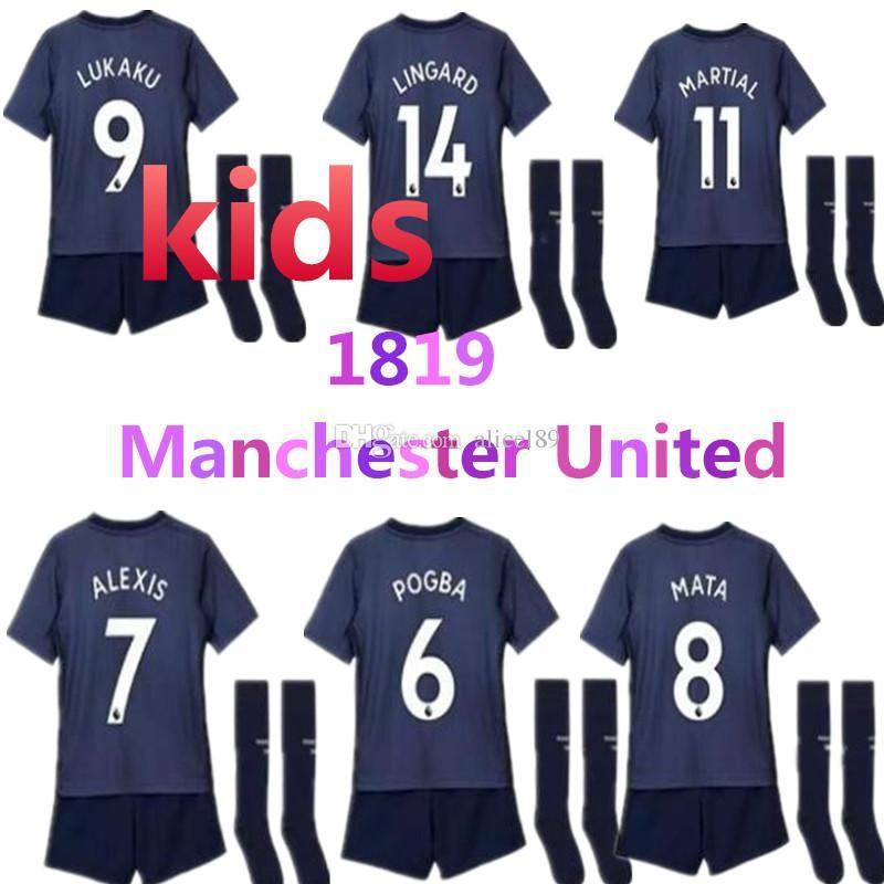 4000d8757a40 New Premier League Child 2019 LUKAKU POGBA Chile Alexis Sanchez ...