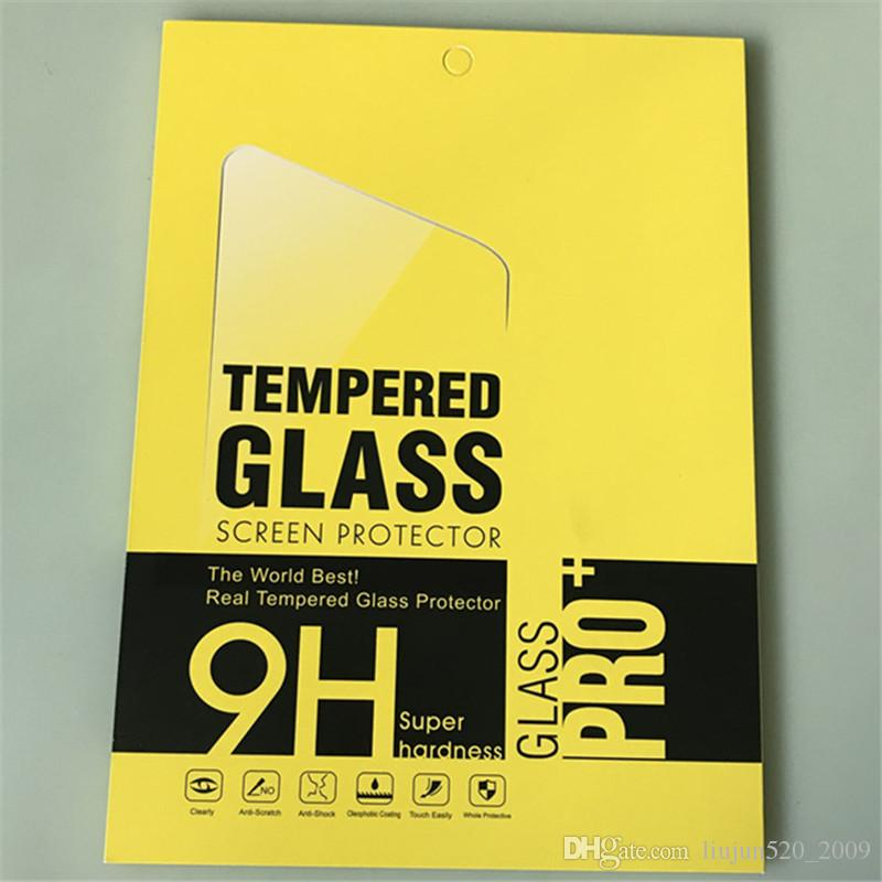 Tempered Glass For Apple iPad Pro 9 7 10 5 2017 2018 Air Air2 2 3 4 Tablet  Screen Protector 9H Toughened Protective Film Guard Films Box