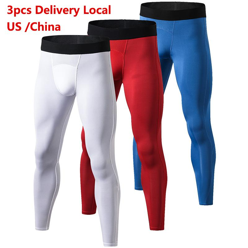 44eb5592d06 US Local Delivery YD Compression Pants Gym Bodybuilding Sport ...