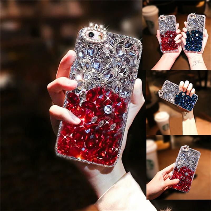 Wholesale For Iphone Xs Max Accessories Bling Two Color Big Rhinestone  Diamond Cover Crystal For Iphone XR 7 8 XS MAX Cell Phones Cases Custom  Cell Phone ... cbec4b9bf7e3