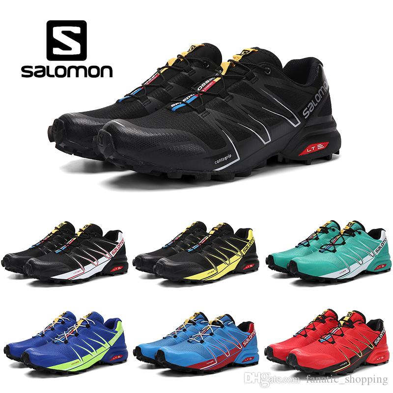 Salomon Speedcross Pro 3 4 CS Trail Running Shoes Mens Outdoor Hiking  Walking Jogging Sports Sneakers 7 11.5 Mens Trail Running Shoes Jogging  Shoes From ... 0c7e89a1607