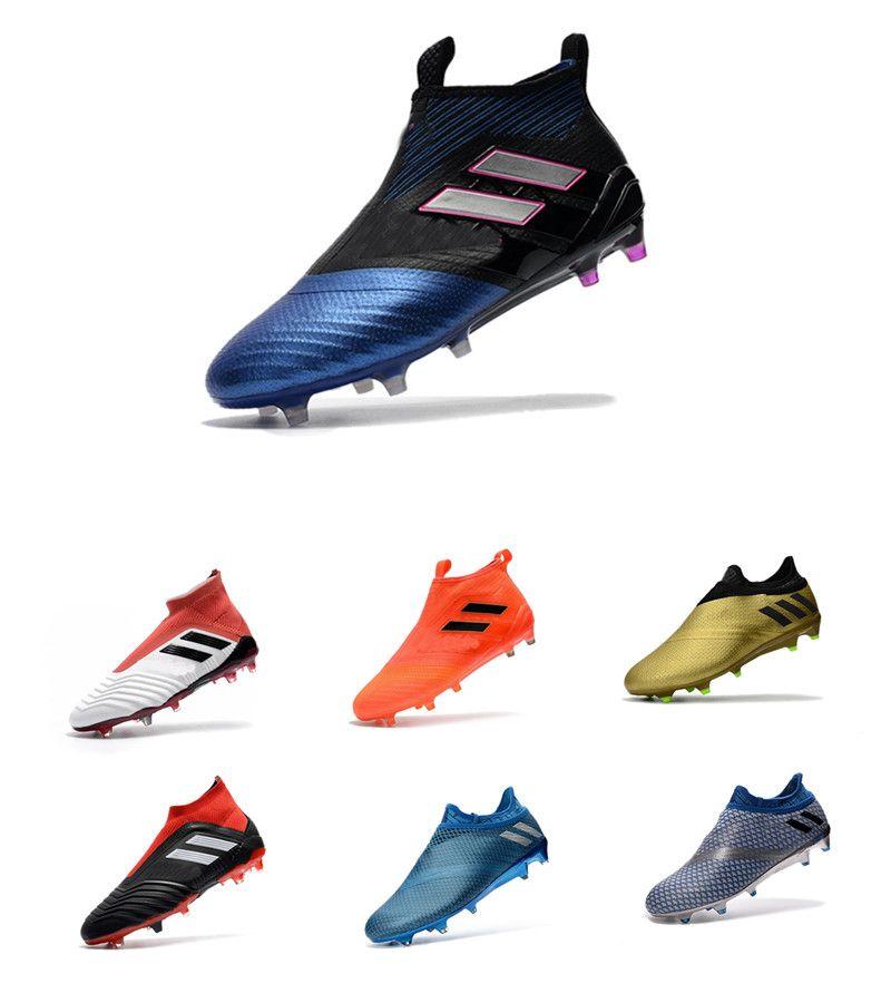 ecf4bb9f4074 2018 V SX Neymar Soccer Shoes Predator 18+x Pogba FG Accelerator DB ...