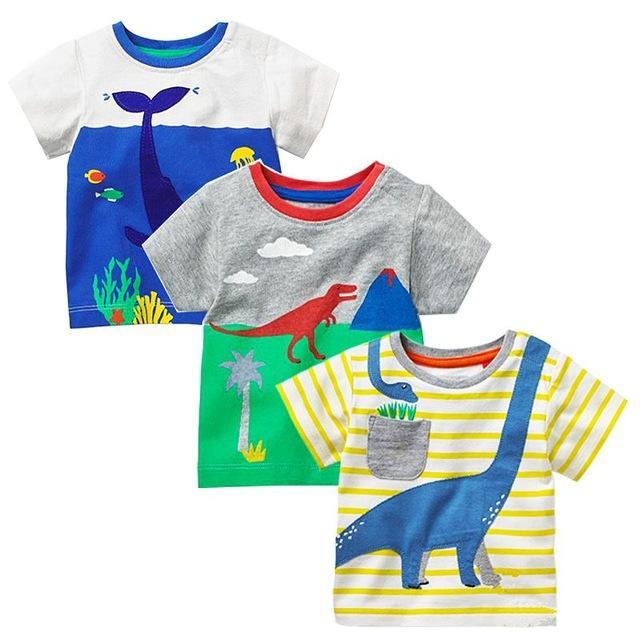 Girls' Clothing Dresses Considerate 2018 Kids Dresses For Girls Childrens Sleeveless Doll Collar Princess Dress Cartoon Dinosaur Print Dresses Clothing Outfits