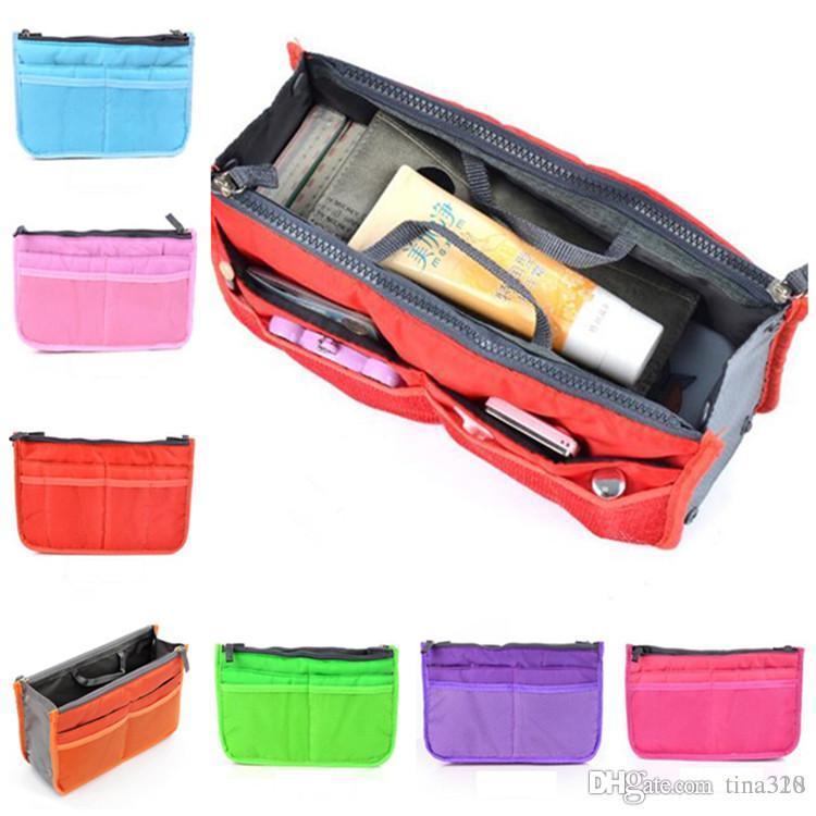 e10ec3d10 2019 Universal Tidy Bag Cosmetic Bag Organizer Pouch Tote Sundry Bag Home  Storage Bags Travel Makeup Insert Handbag IB092 From Tina328, $1.86 |  DHgate.Com