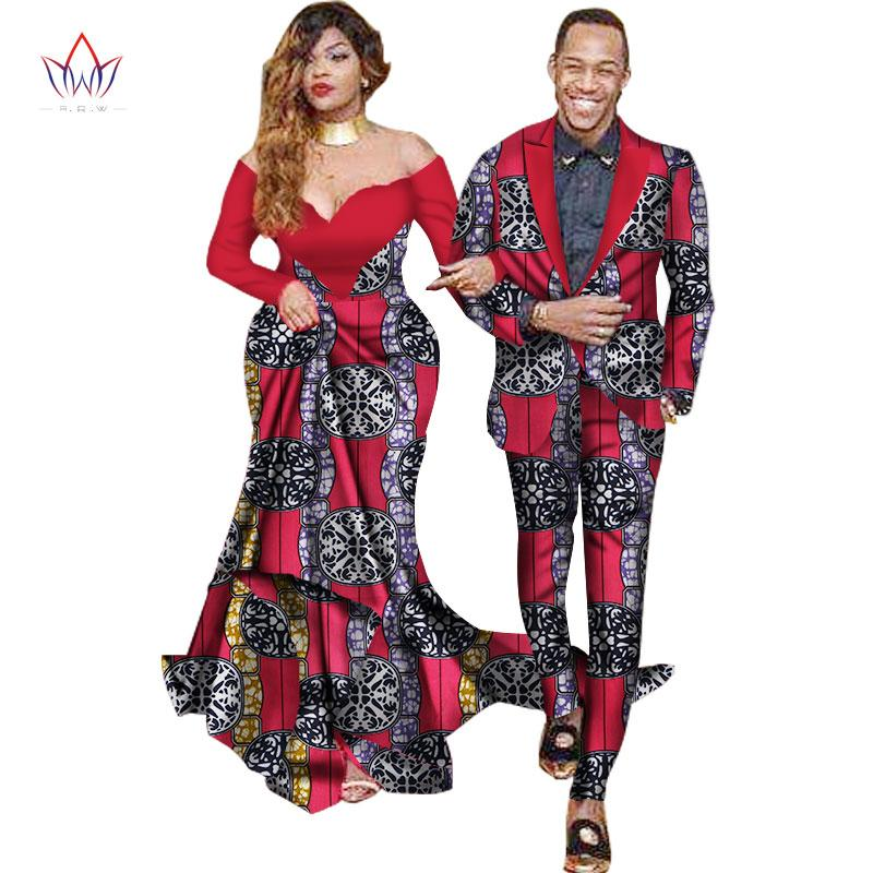 Sweet Lovers Matching Couples Clothes Gift Valentineu0027 Day Long Sleeve Women  Maxi Dresses And Mens Jacket Suits Plus Size WYQ40 African Couple Clothing  Women ...