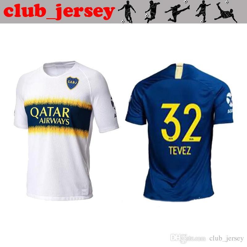 Camiseta De Fútbol 2018 BOCA JUNIORS 18 19 CARDONA Calidad De Hogar  Tailandesa Azul Visitante Amarillo BENEDETTO GAGO PAVON CARLITOS MARADONA  ROMA Camiseta ... 1e798c9b2c3ce