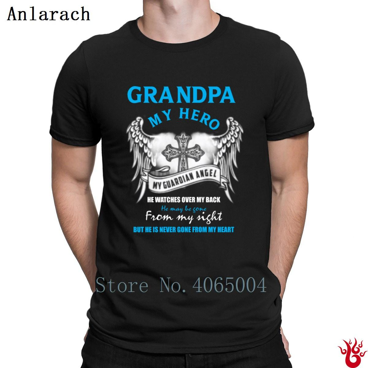 4924d822b ... father; grandpa my hero my guardian angel tshirts leisure leisure fit  crew ...