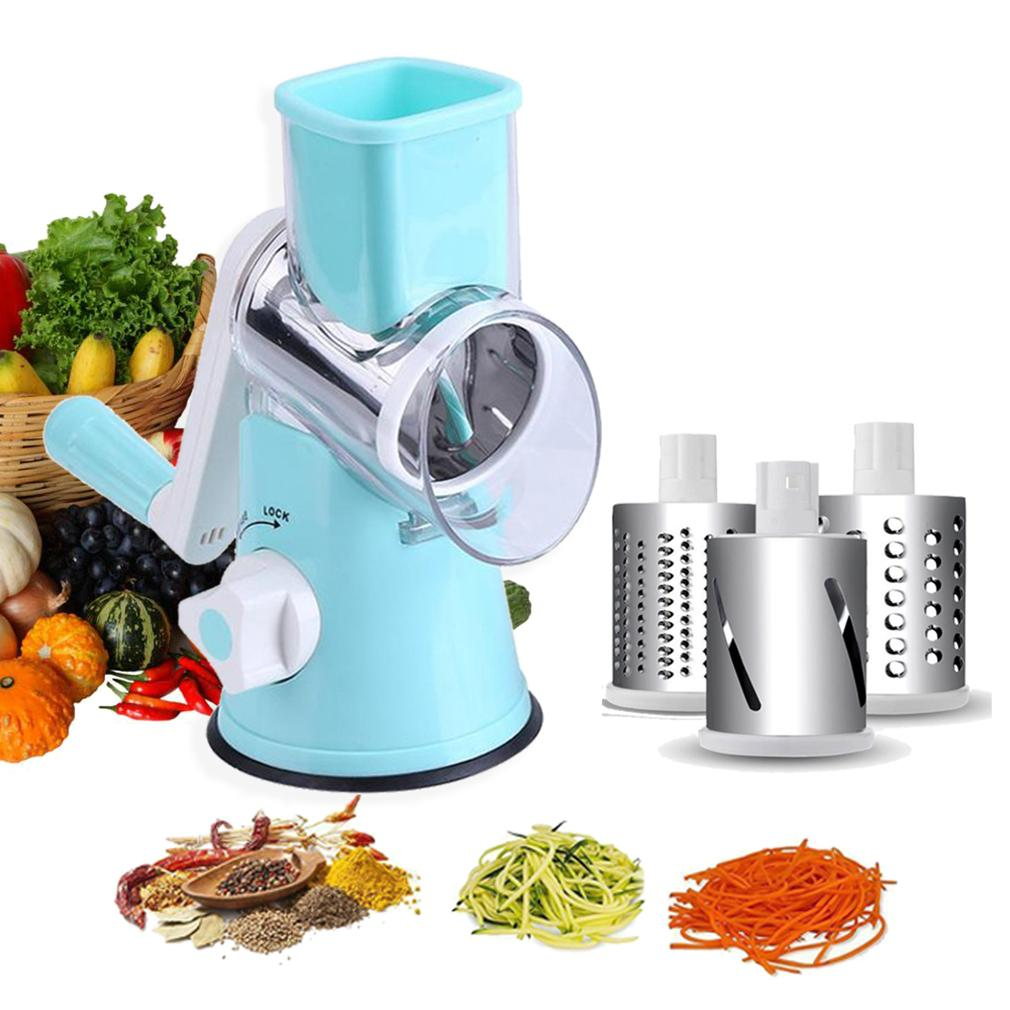 2018 Stainless Steel Drum Type Hand Operated Vegetable Shredder ...