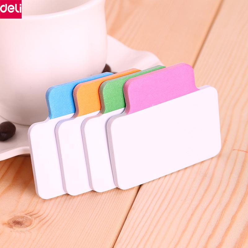 2019 Deli Index Stickers Self Adhesive Sticky Notes School Office Memo Pads Kawaii Decoration Pad Student Supplies From Gor2don 2202
