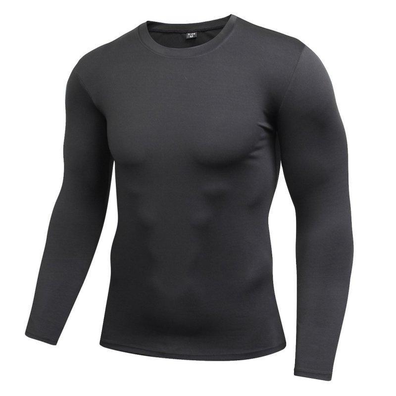 Compre Mens Compressão Manga Longa Baselayer Corpo Sob Camiseta Apertado  Desgaste Top S72 De Buxue 7ef72f775b13f