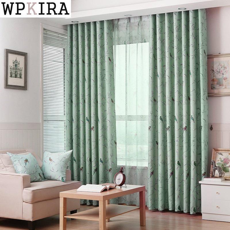 Tenda per tende da caffè per soggiorno in camera da letto in tessuto verde  per tende da letto per bambini in tessuto. Tenda in tulle di cartone ...