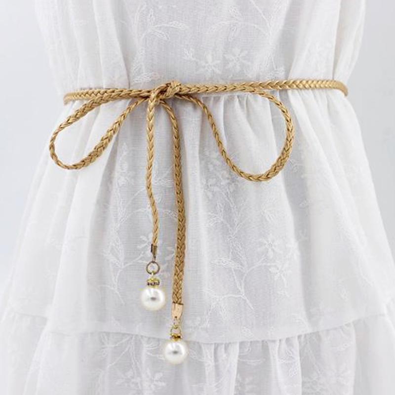 énorme réduction d5ec0 67d5e Boucles D oreilles D été Robe Ceinture Bracelet Ceinture Perle Ceinture  Taille Perle Accessoires Femmes Mode Ceinture