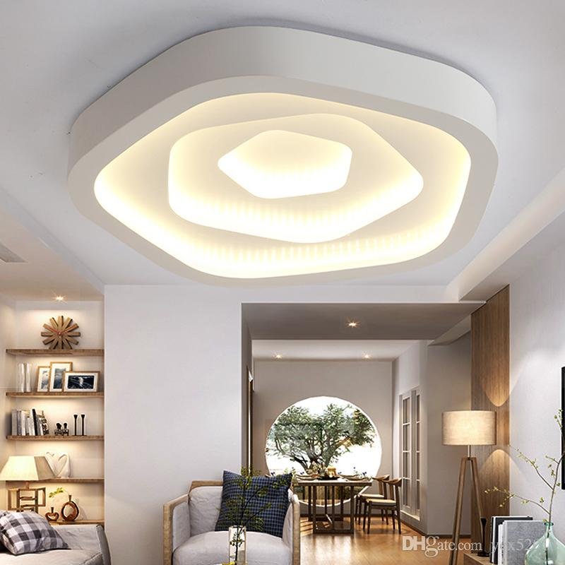 2018 modern ceiling lights simple round led iron ceiling lamp for 2018 modern ceiling lights simple round led iron ceiling lamp for living room studybedroom lights home decorative lighting fixtures from ycx52013 aloadofball Image collections