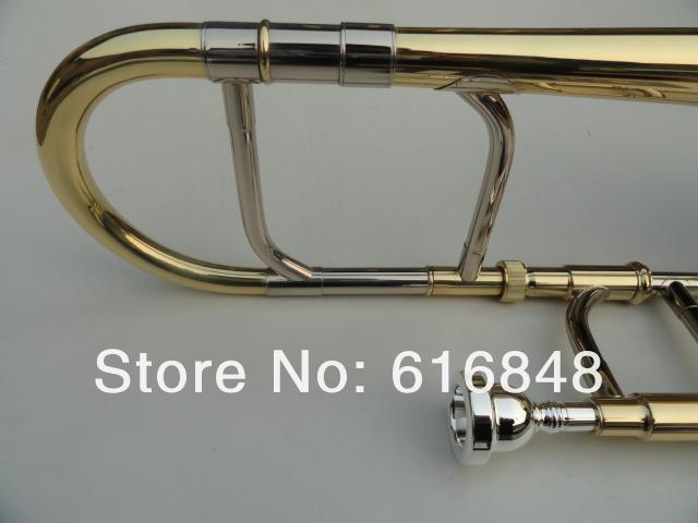Бесплатная Доставка Альт Тромбон Профессиональный Музыкальный Инструмент EB Tune Тромбон Для Студентов Высокое Качество Латунь Тромбон С Делом