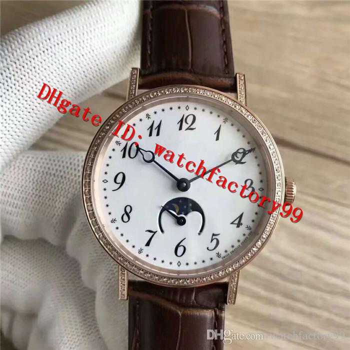 New Casual 9087BB/29/964 Classic Series cal. 770 Automatic Men's Watch Gold Rosegold Stainless Steel Case Sapphire Surface Moon Phase Featur