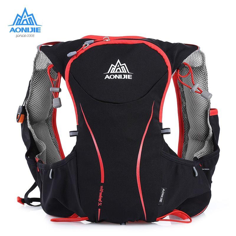 28da6ff1c6 2019 AONIJIE 5L Outdoor Sport Running Backpack Women/Men Marathon Hydration  Vest Pack Cycling Hiking Bag From Ixiayu, $44.83 | DHgate.Com
