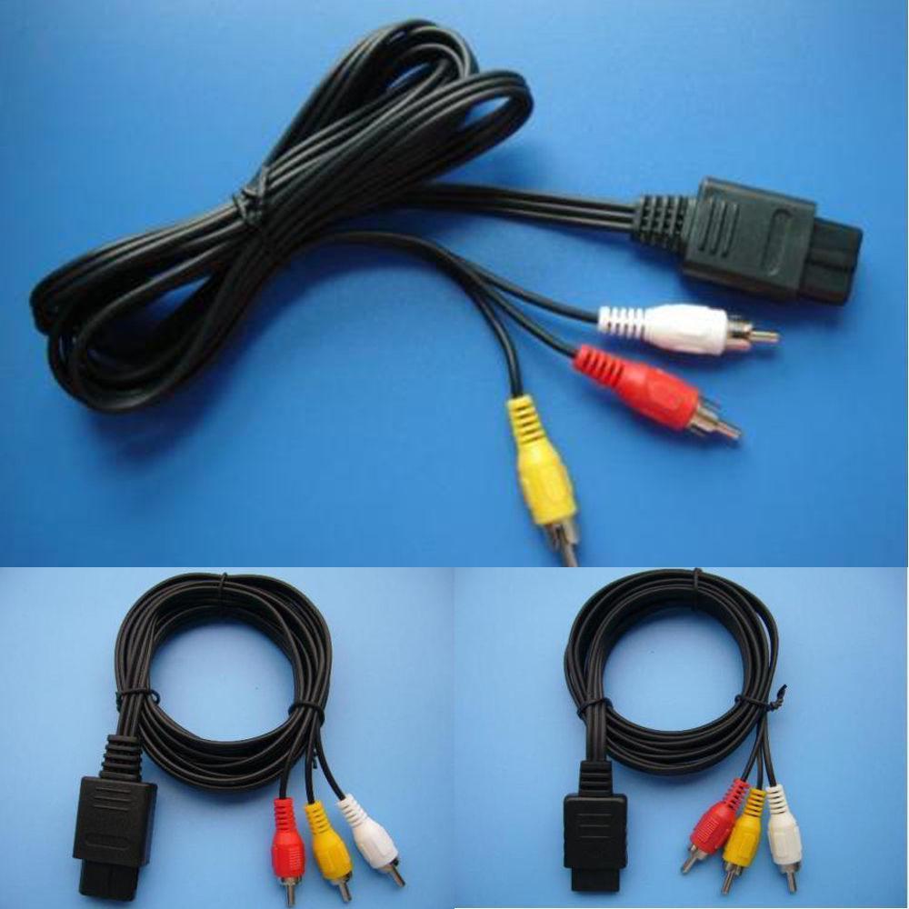 Hot New Av Audio Video Cable Lead For Super Nintendo Gamecube ...