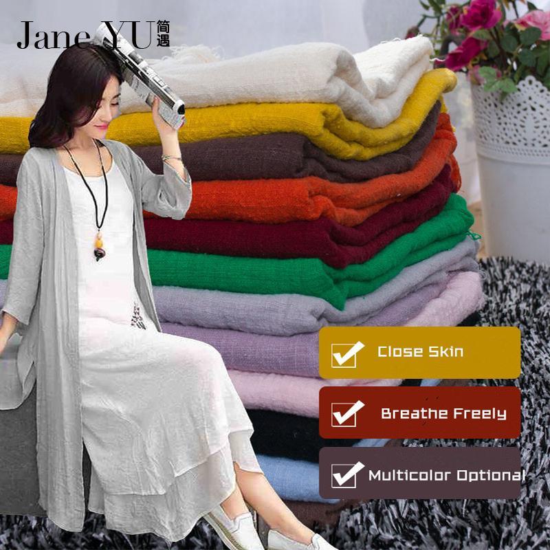 Grosshandel Janeyu 1 35 M Breit Bambus Baumwolle Flussigkeit Tuch