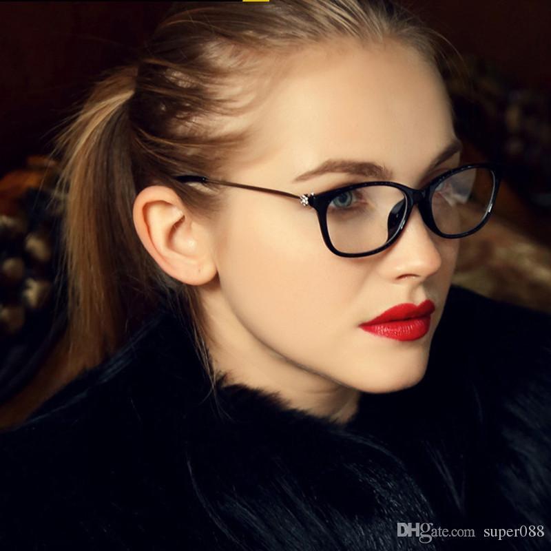 Großhandel Weinlese Grad Diamant Brillen Eyewear Rahmen Frauen Augen ...