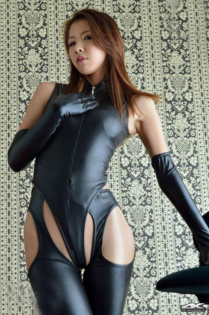 Uniforms and black pantyhose